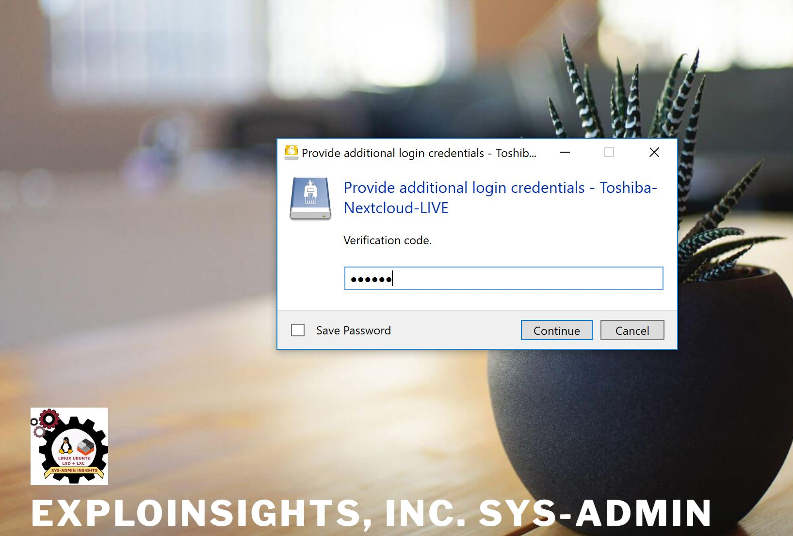 LXC – EXPLOINSIGHTS, INC  Sys-Admin